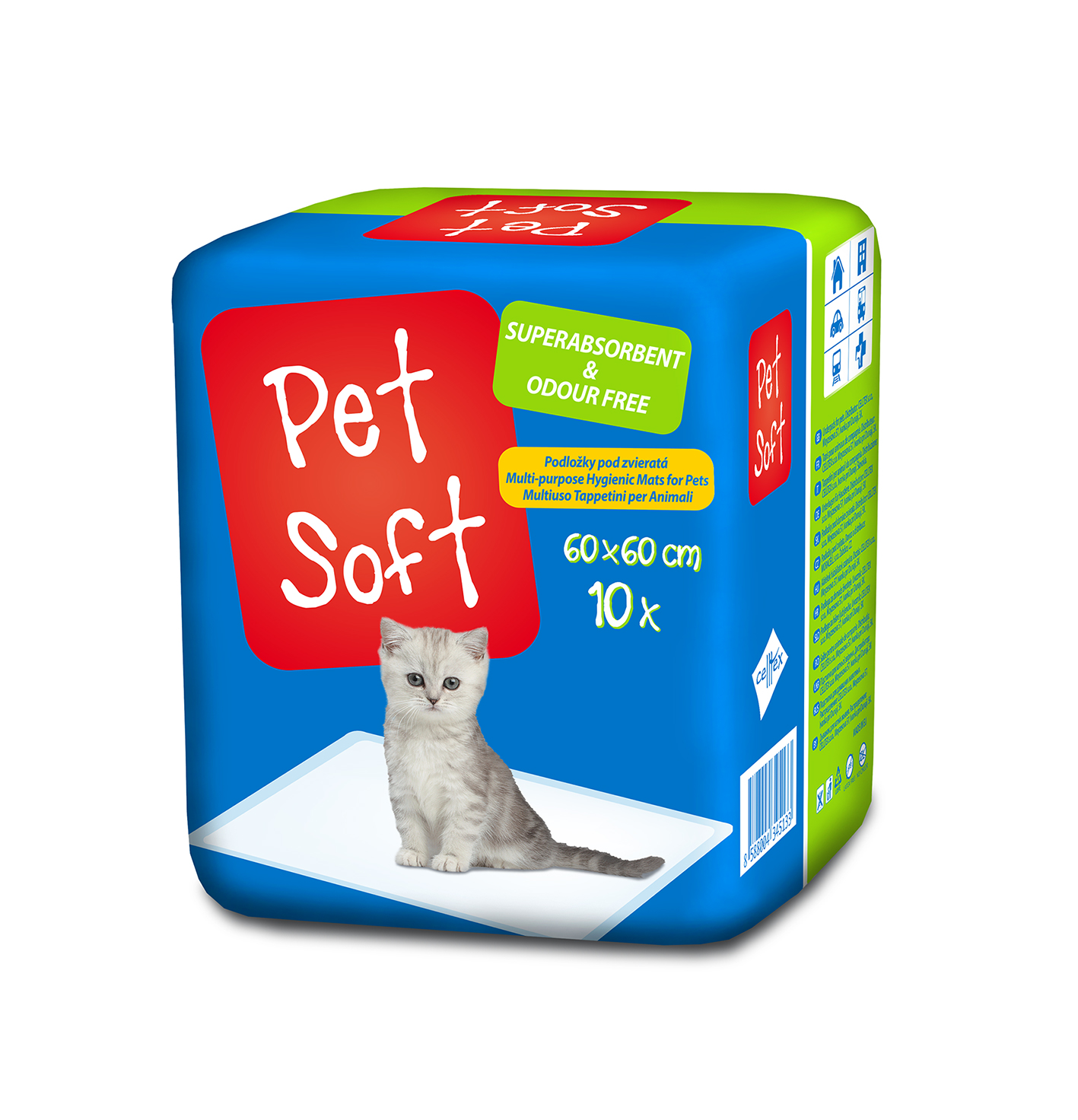 8588004345133 Pet Soft 3D new cat